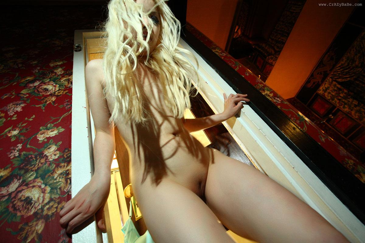 Crazy girl nude