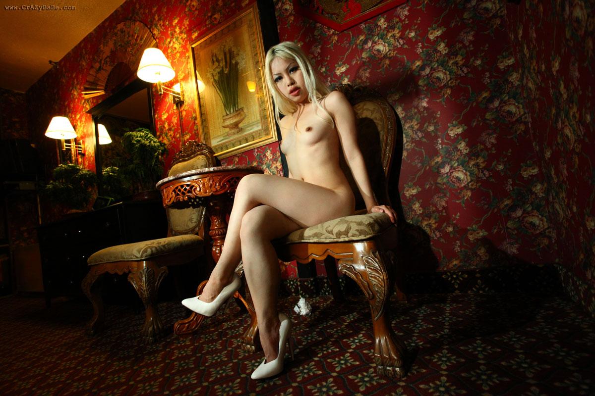 Young girl hairy nude